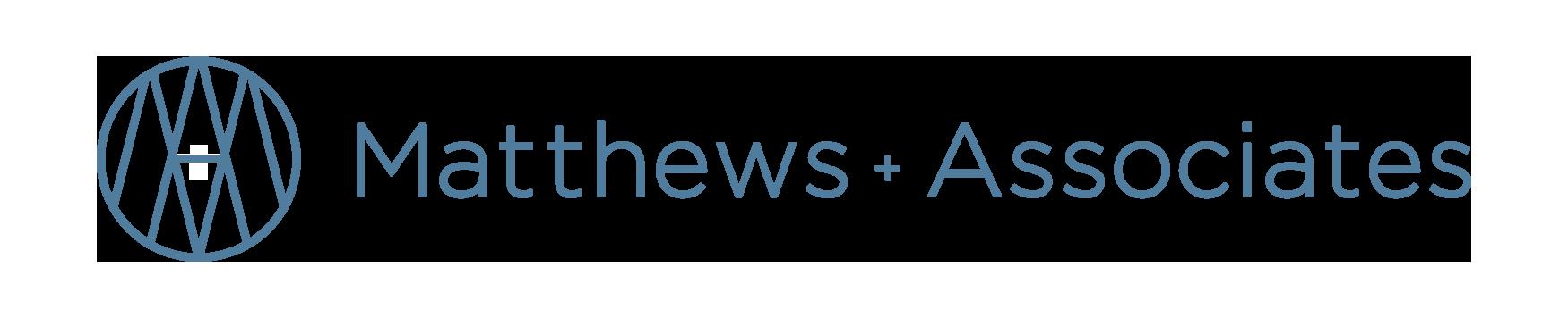 Logo for Matthew + Associates