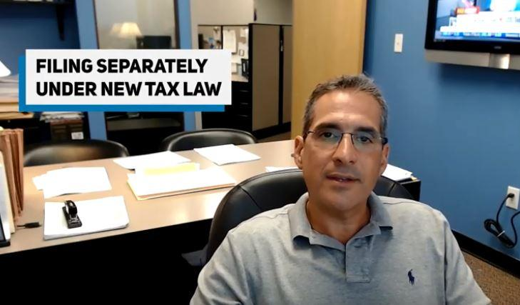 Filing Separately Under The New Tax Law Thumbnail