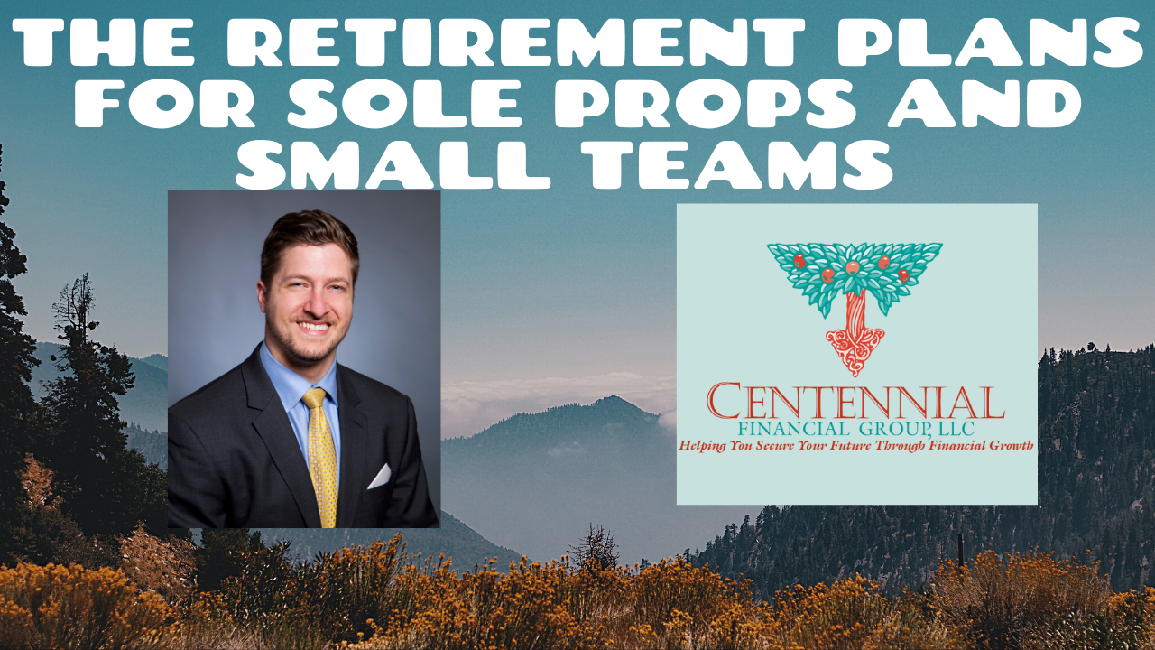 The Retirement Plans for Sole Proprietorships and Small Business Thumbnail