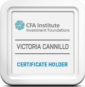Victoria Cannillo earns the CFA Investment Foundations® Certificate Thumbnail