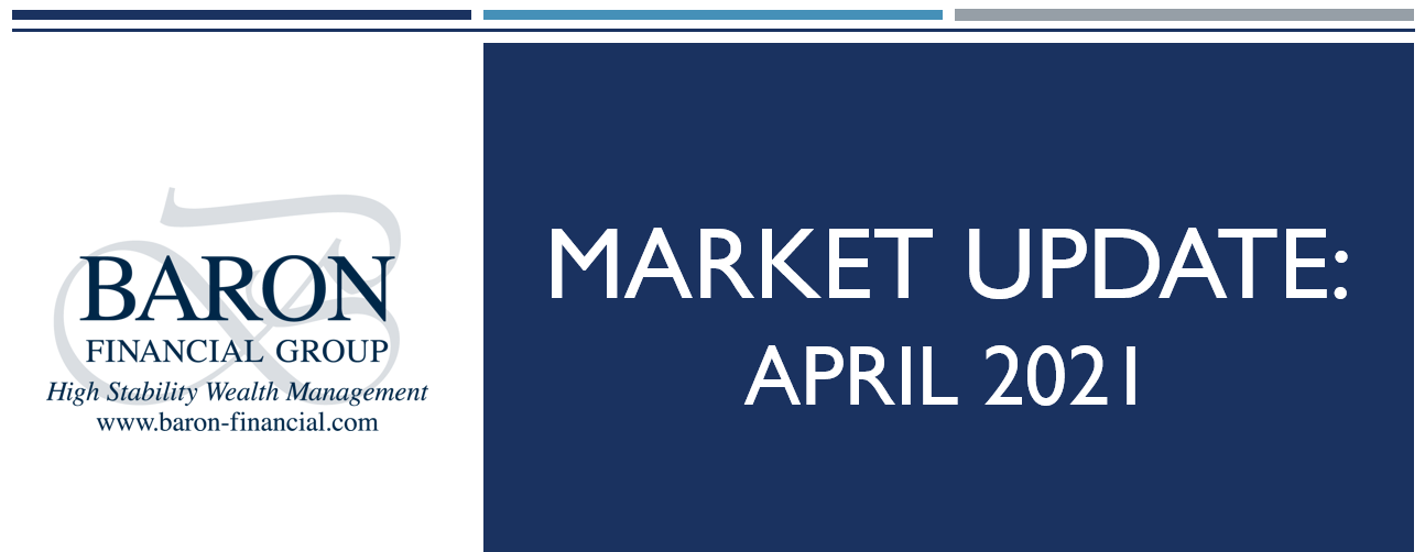 Video: Baron Financial Group Market Update for April 2021 Thumbnail