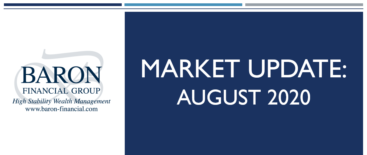 Video: Baron Financial Group Market Update for August 2020 Thumbnail