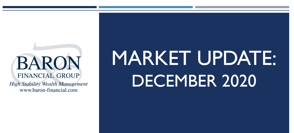 Video: Baron Financial Group Market Update for December 2020 Thumbnail
