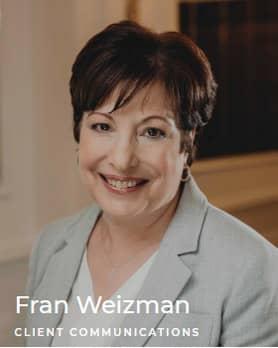 Fran Weizman - Client communications