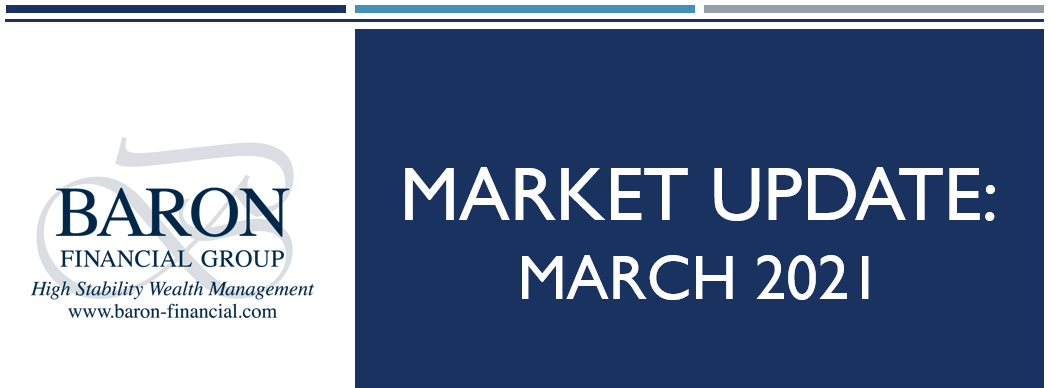 Video: Baron Financial Group Market Update for March 2021 Thumbnail