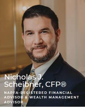 Nicholas J. Scheibner, CFP - NAPFA registered financial advisor & wealth management advisor