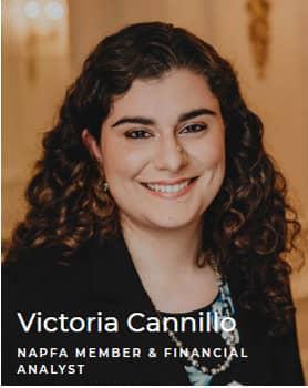 Victoria Cannillo - NAPFA member & financial analyst