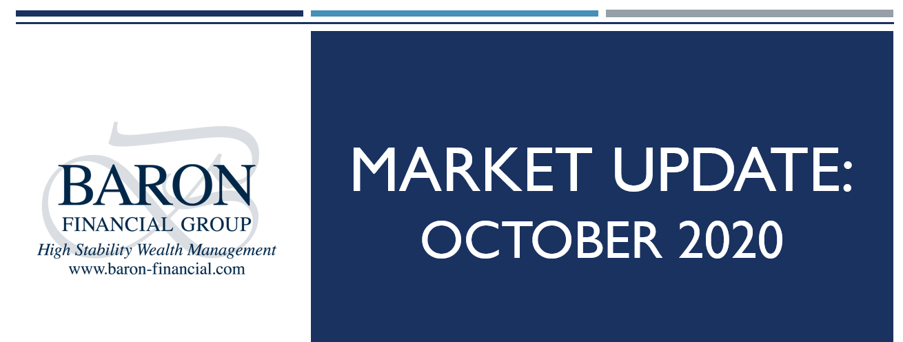 Video: Baron Financial Group Market Update for October 2020 Thumbnail