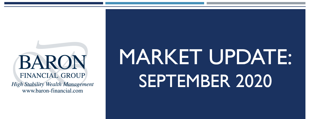 Video: Baron Financial Group Market Update for September 2020 Thumbnail