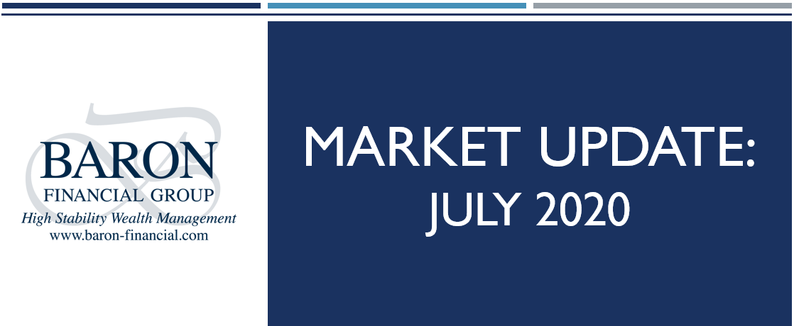 Video: Baron Financial Group Market Update for July 2020 Thumbnail