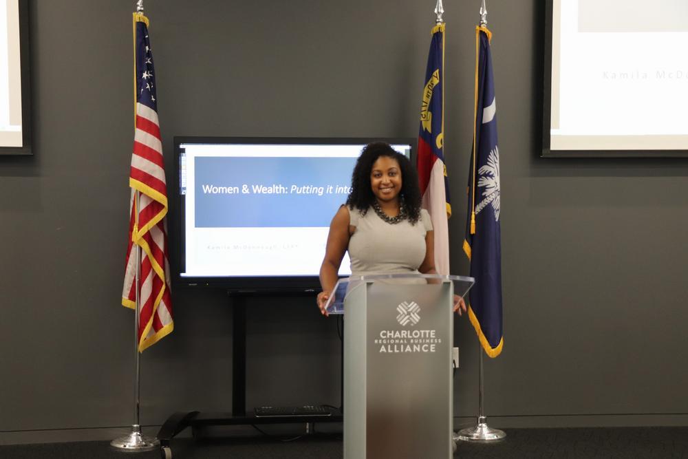 Kamila Elliott McDonnough, MBA, CFP® Hover Photo