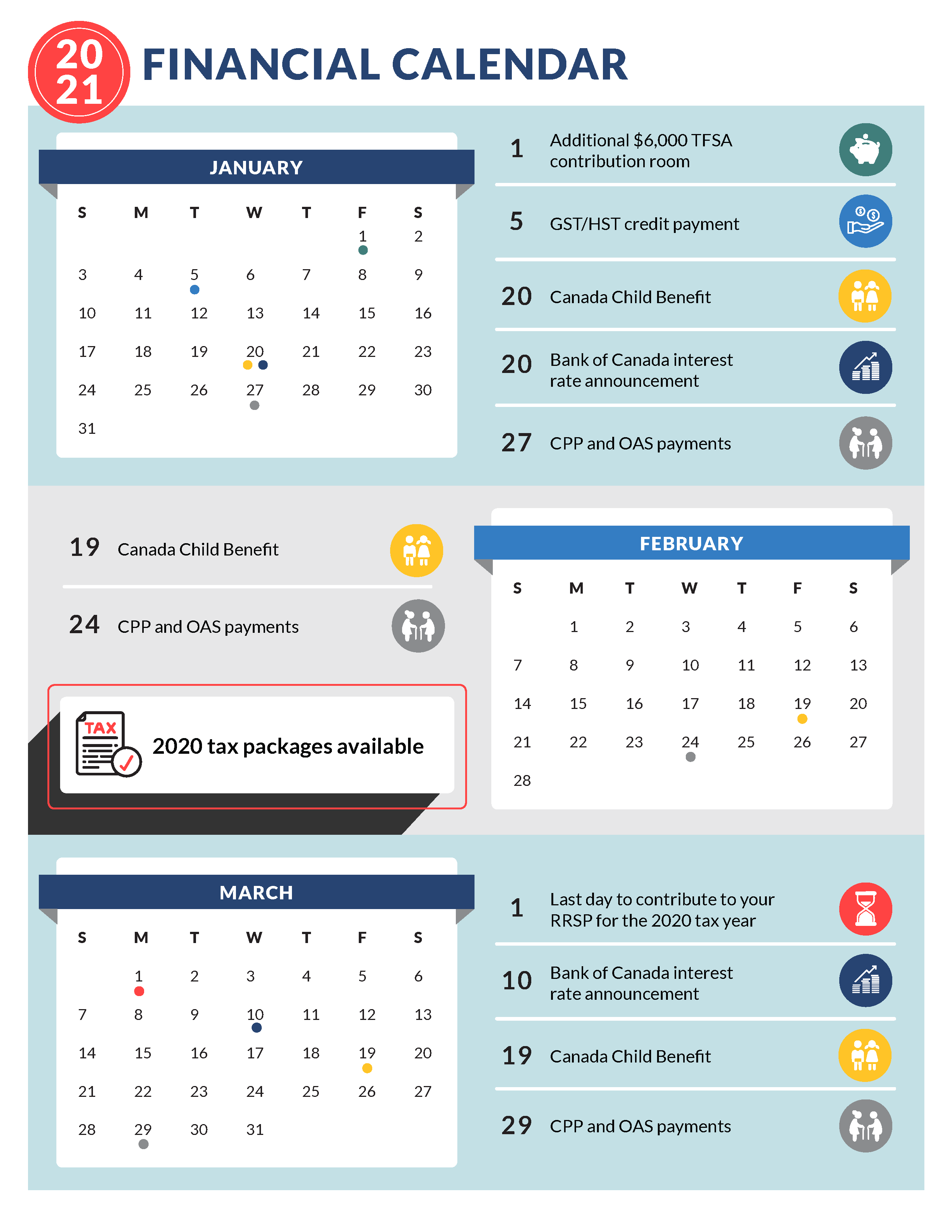 Financial Calendar 2021 Thumbnail