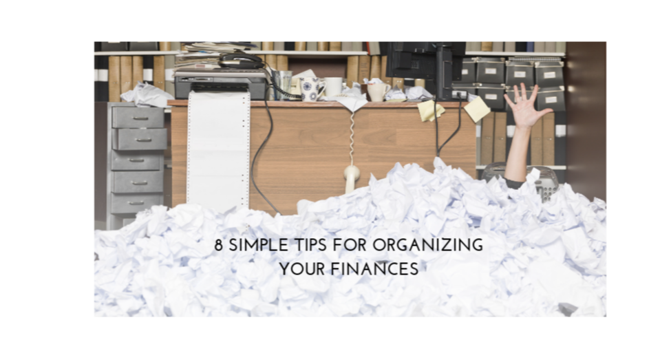 8 Simple Tips for Organizing Your Finances Thumbnail