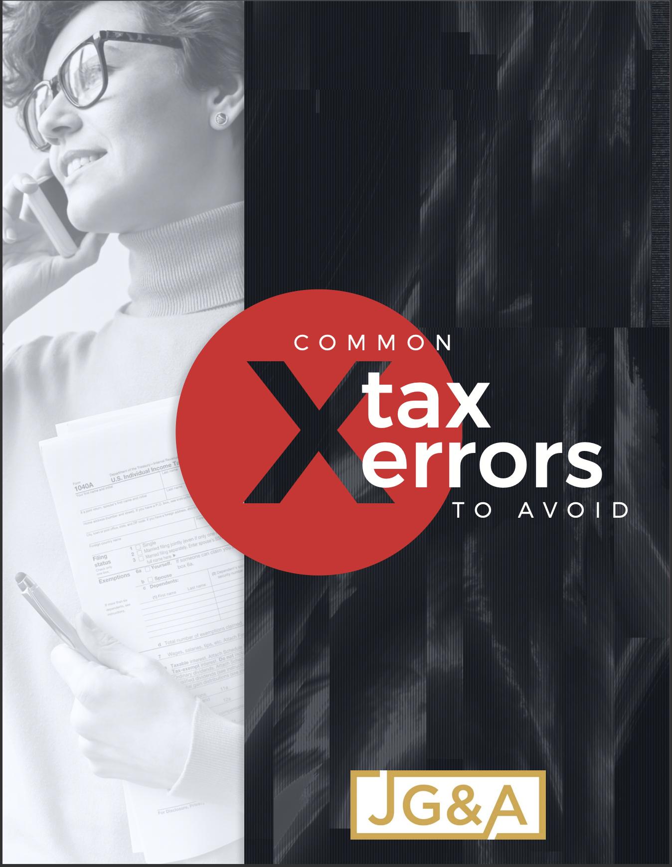Common Tax Errors to Avoid Thumbnail