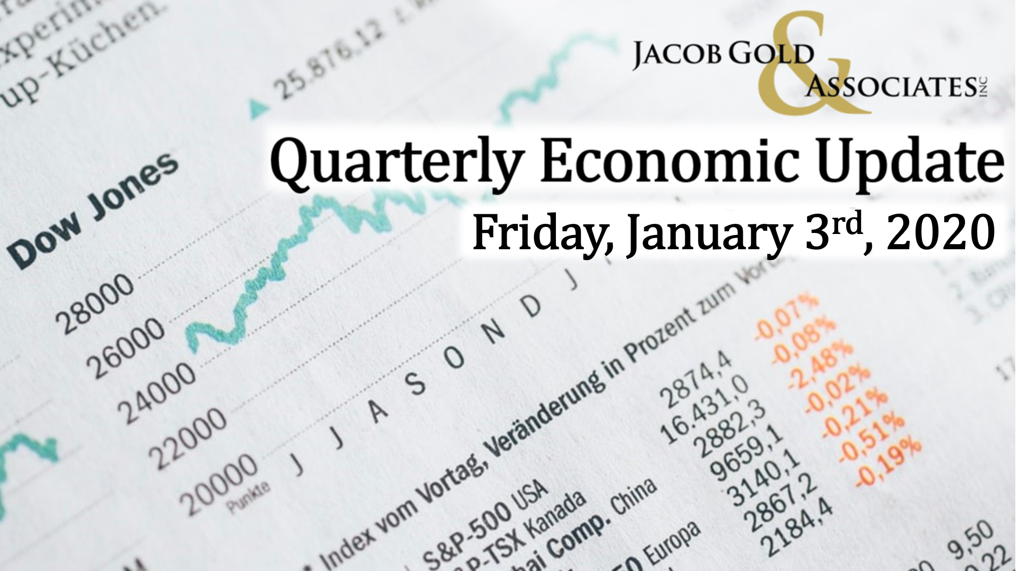 First Quarter Economic Update Thumbnail