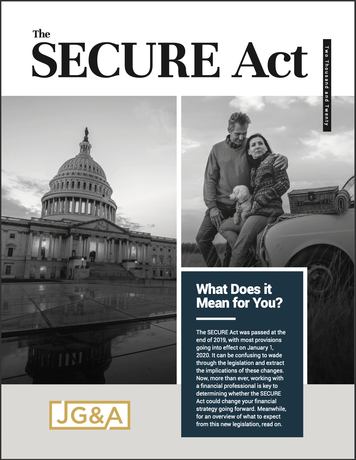 The Secure Act of 2020: What Does it Mean to You? Thumbnail