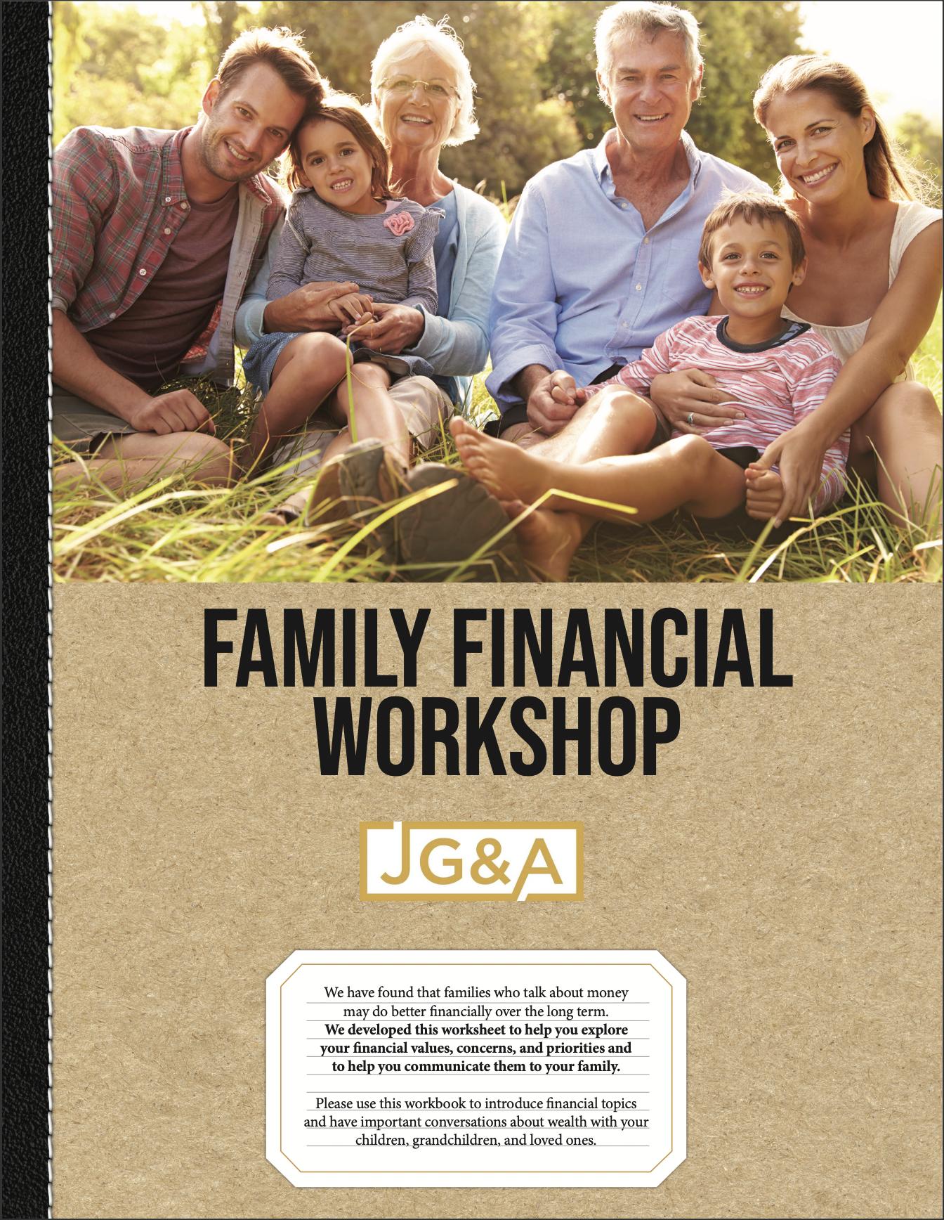 Family Financial Workshop Workbook Thumbnail