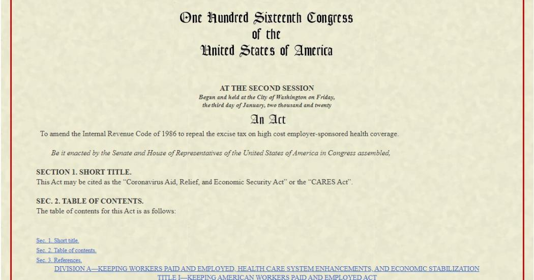 What the Stimulus Bill Means For You  Thumbnail