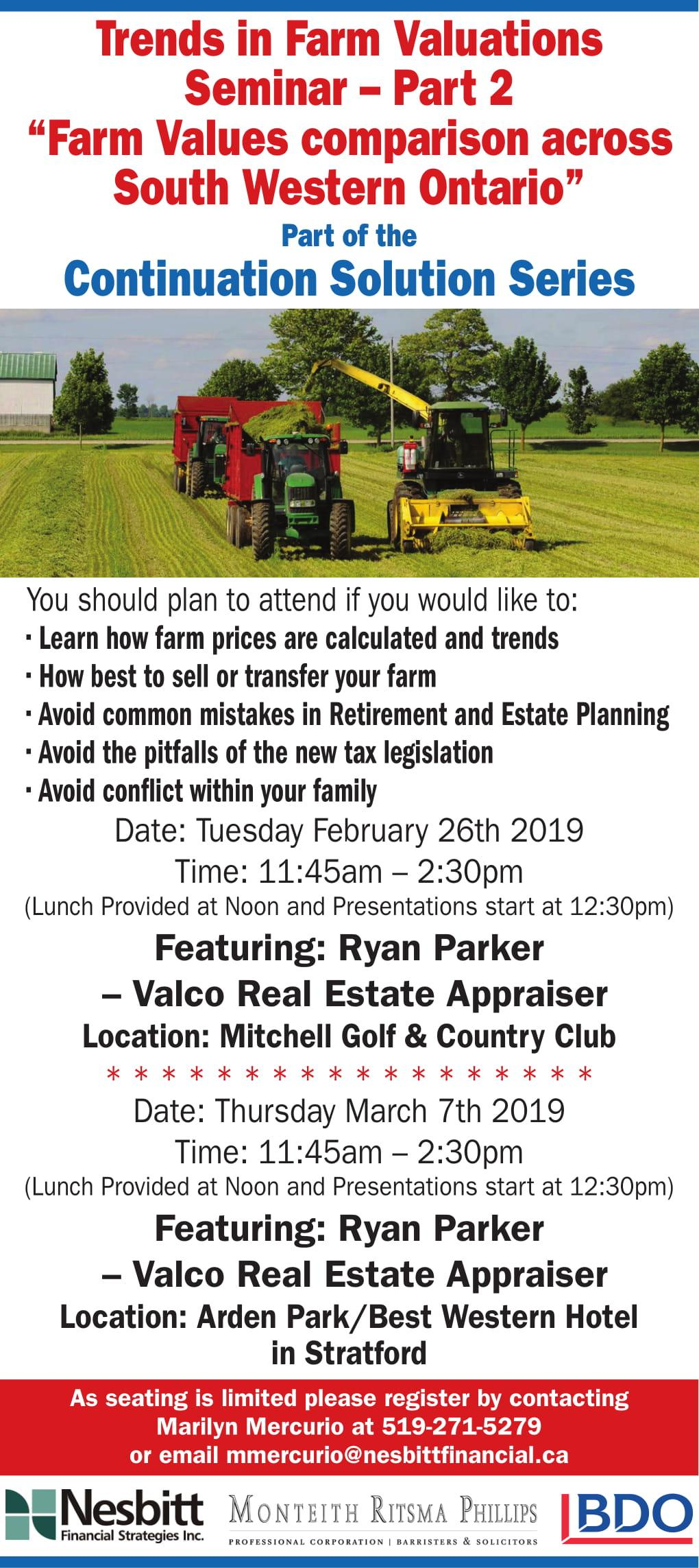 Trends in Farm Valuations Seminar - Part 2 Thumbnail