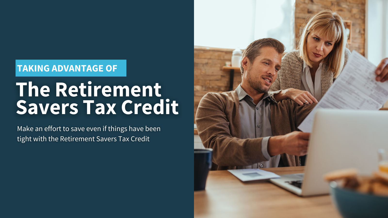 Taking Advantage of the Retirement Savers Tax Credit Thumbnail