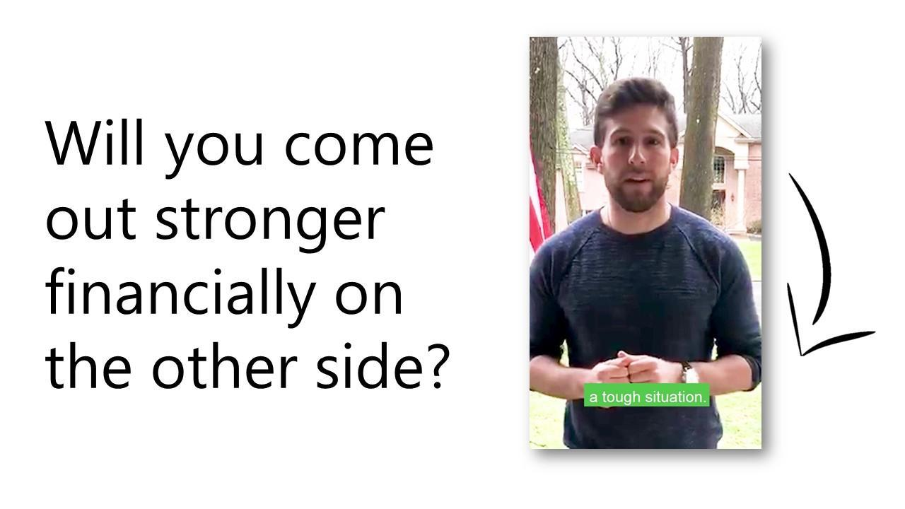 Vlog: Will you come out stronger financially on the other side? Thumbnail