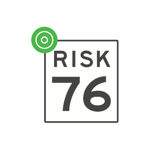 Portfolio risk number icon