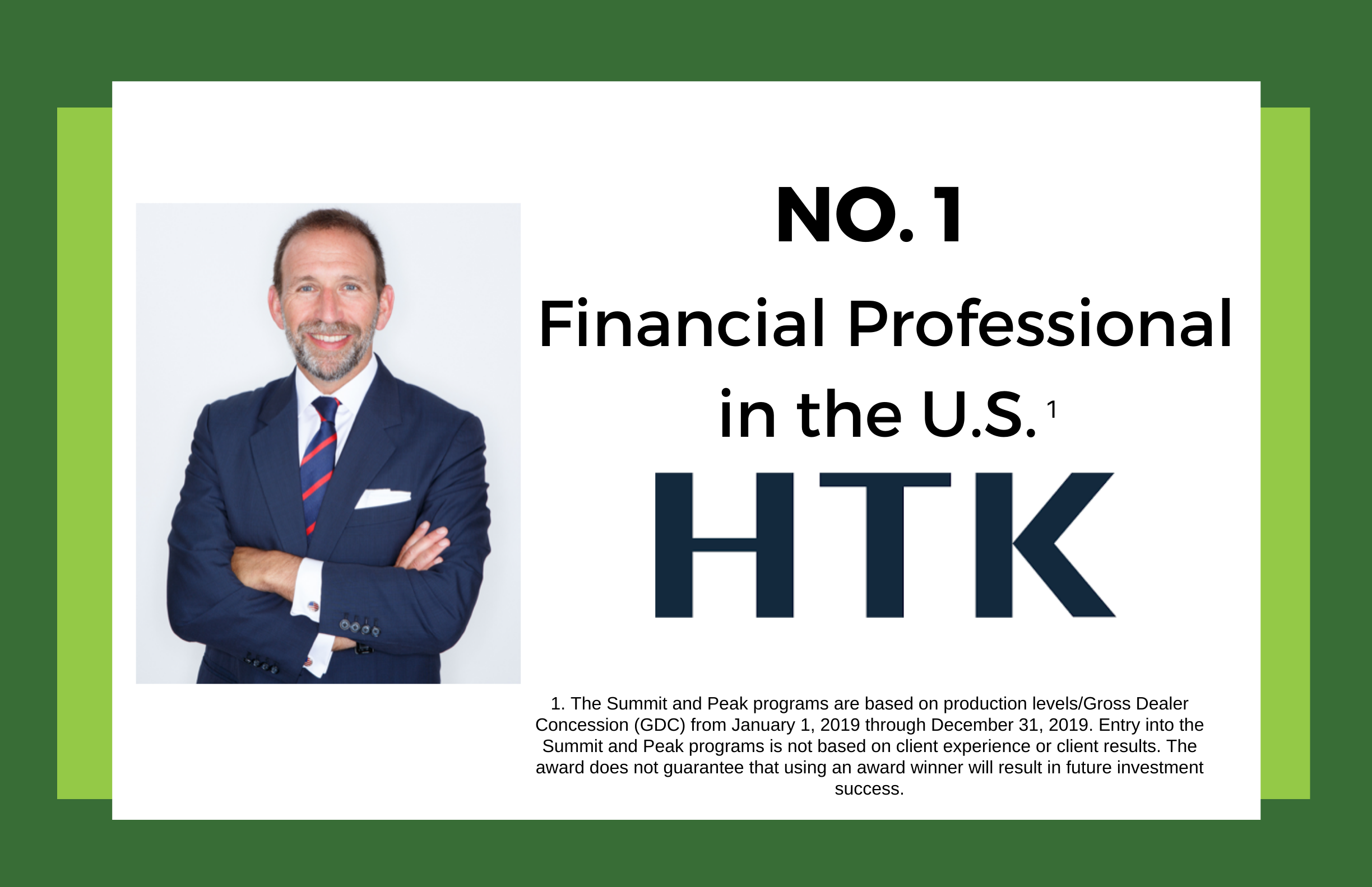 Lance Drucker, ChFC®, CLU®, named the Top Financial Professional in the U.S. by HTK Thumbnail