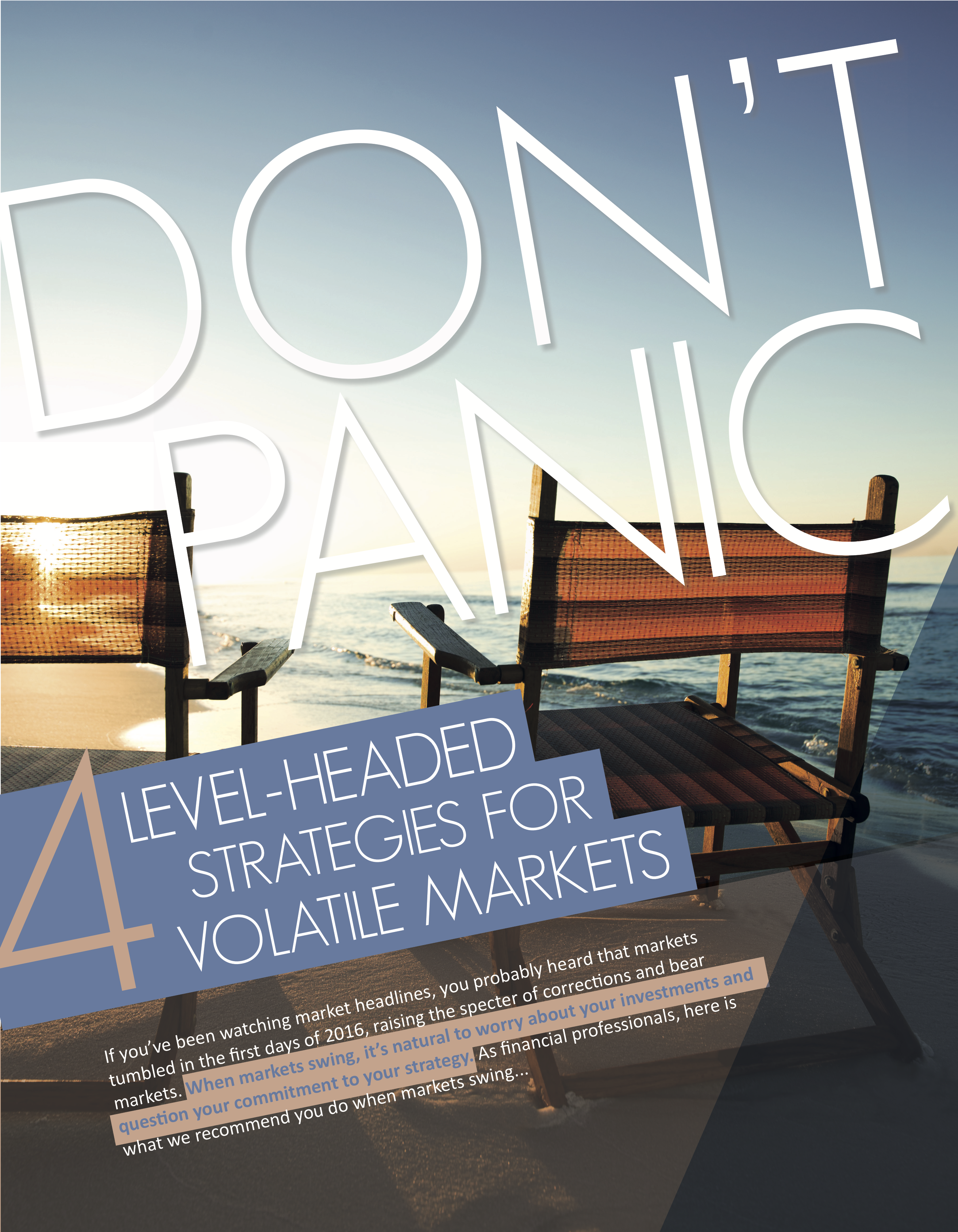 Guide cover page - 4 level-head strategies for volatile markets