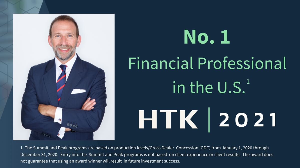 Lance Drucker, ChFC®, CLU®, Named the No. 1 Financial Professional in the U.S. by HTK Thumbnail
