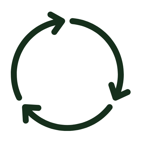 Continuous circle icon