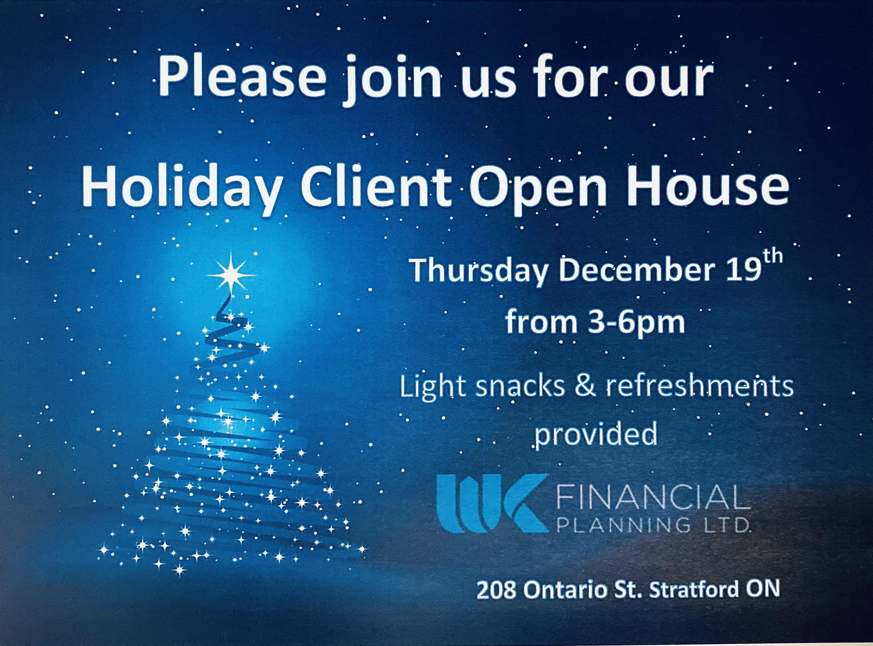 WK Financial Holiday Client Open House  Thumbnail