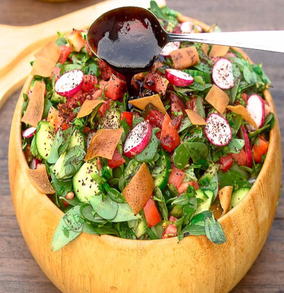Covid-19 Recipe Series: Fattoush  Thumbnail