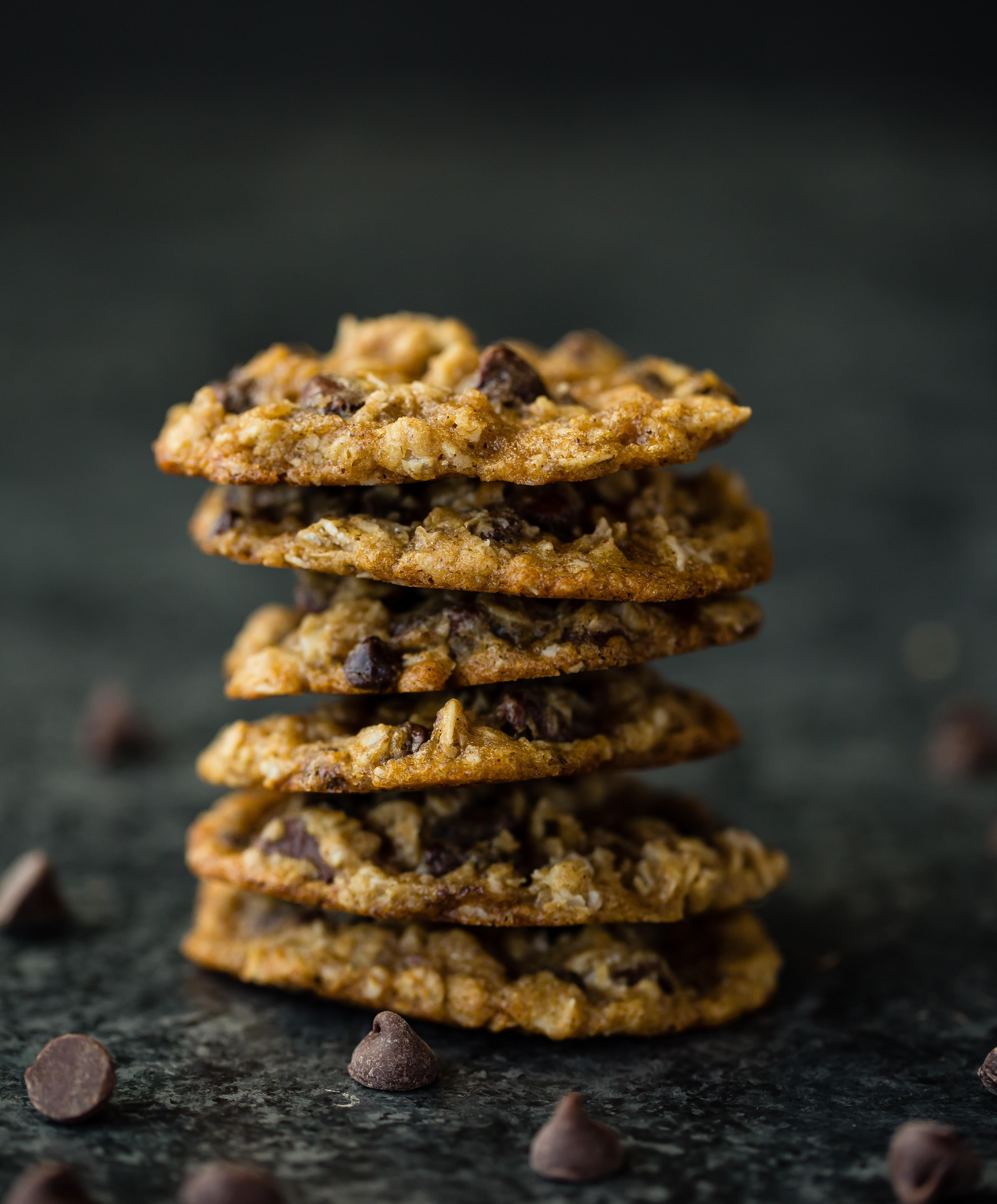 Covid-19 Recipe series:  Chewy Oatmeal Chocolate Chip Cookies Thumbnail