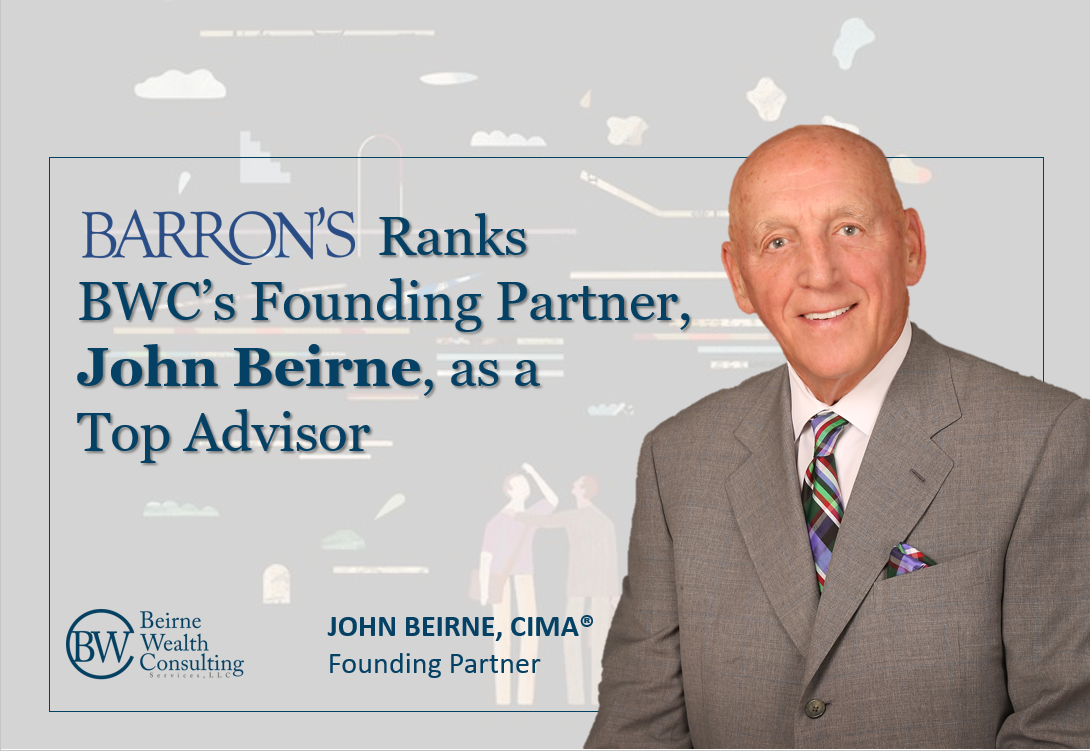 Barron's Ranks BWC's Founding Partner, John Beirne, as a 2020 Top Advisor Thumbnail