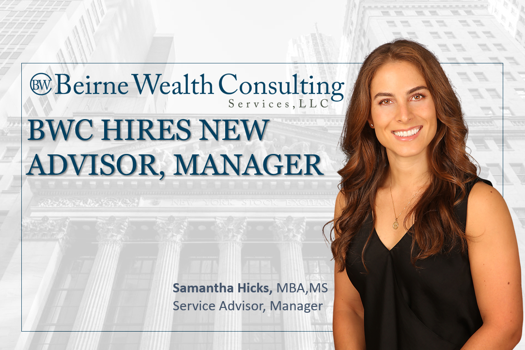 Beirne Wealth Consulting Services, LLC Hires New Service Advisor, Manager Thumbnail