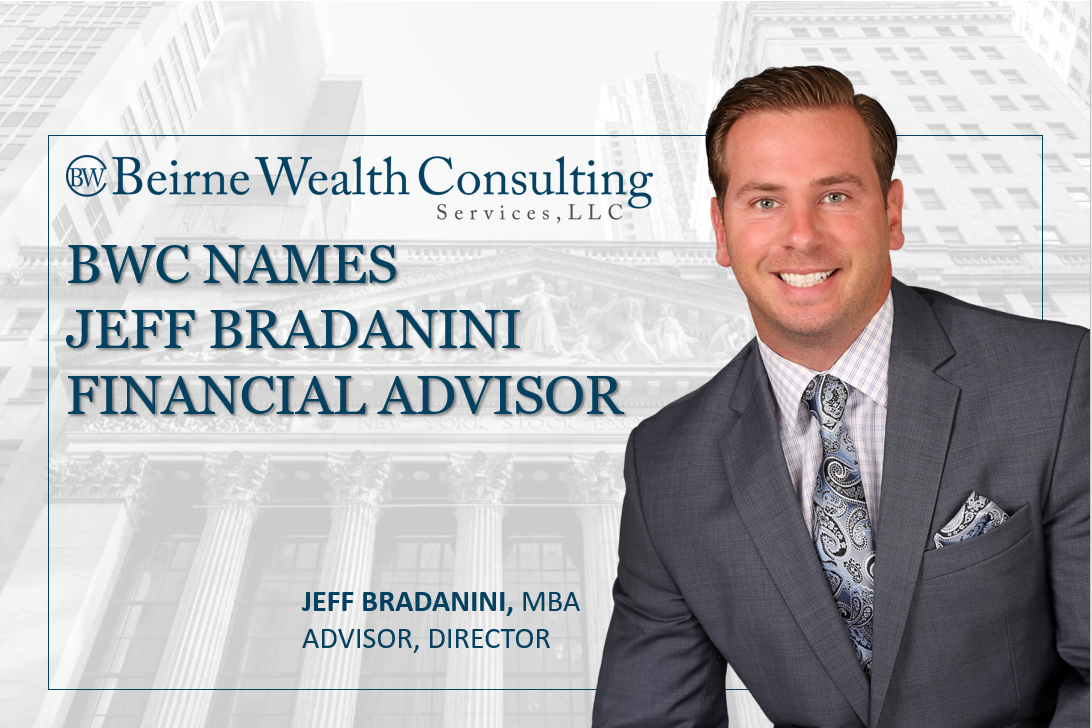 BWC Names Jeff Bradanini Financial Advisor, Further Strengthening the Advisory Team Thumbnail