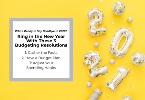 Who's Ready to Say Goodbye to 2020? Ring in the New Year With These 3 Budgeting Resolutions Thumbnail