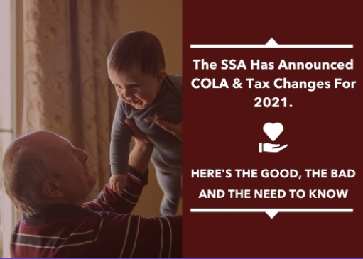 The Social Security Administration Has Announced Cost of Living Adjustments & Tax Changes For 2021. Here's What You Need to Know Thumbnail