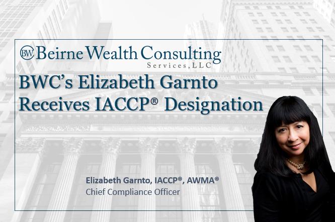 BWC's CCO, Elizabeth Garnto, Receives IACCP® Designation Thumbnail