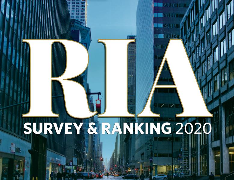 Image result for financial advisor magazine top ria 2019