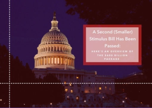 A Second (Smaller) Stimulus Bill Has Been Passed: Here's an Overview of the $600 Billion Package Thumbnail