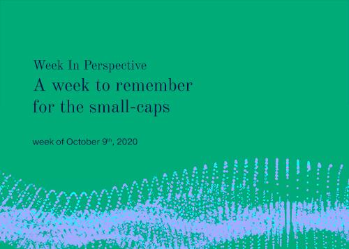 Week In Perspective October 9, 2020: A week to remember for the small-caps. Thumbnail