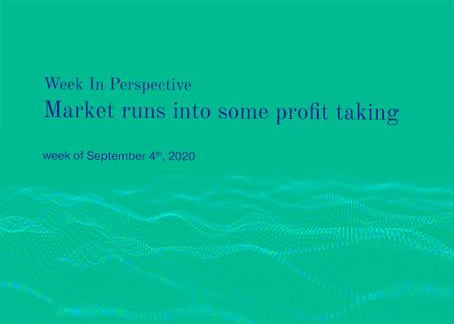 Week In Perspective September 04, 2020: Market Runs Into Some Profit Taking  Thumbnail