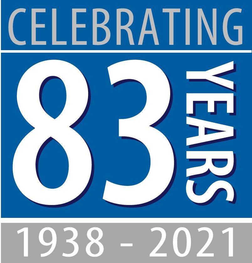 Celebrating over 80 years icon