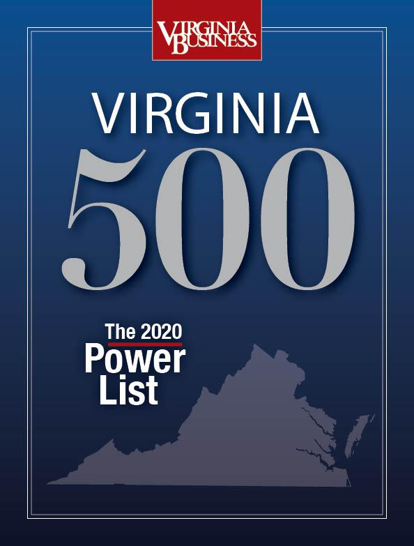Simon Hamilton Named to Inaugural Virginia 500 Power List  Thumbnail