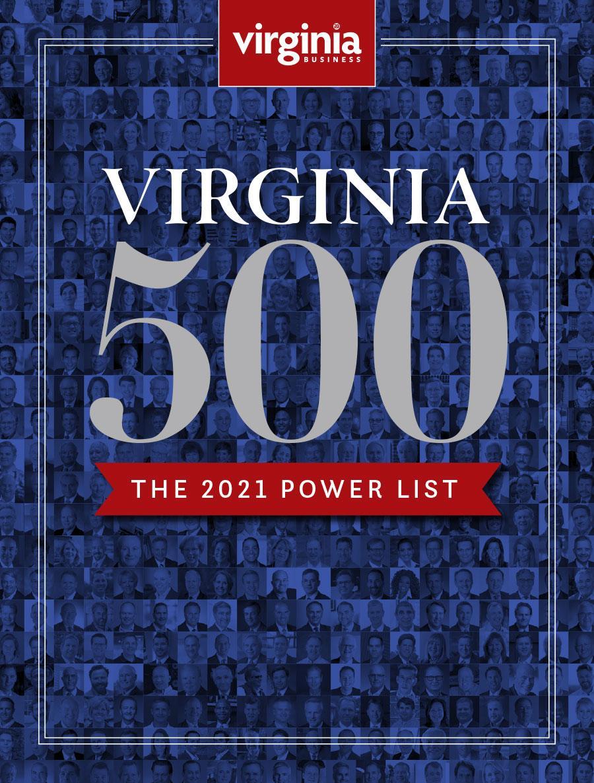 Simon Hamilton named to Virginia 500 2021-22 Power List Thumbnail