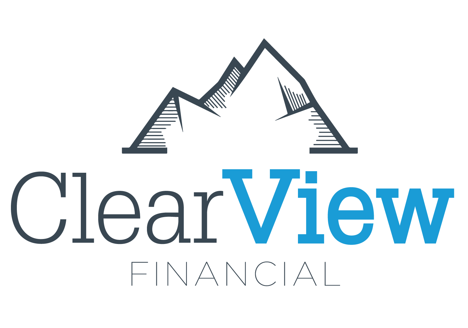 Logo for ClearView Financial, LLC