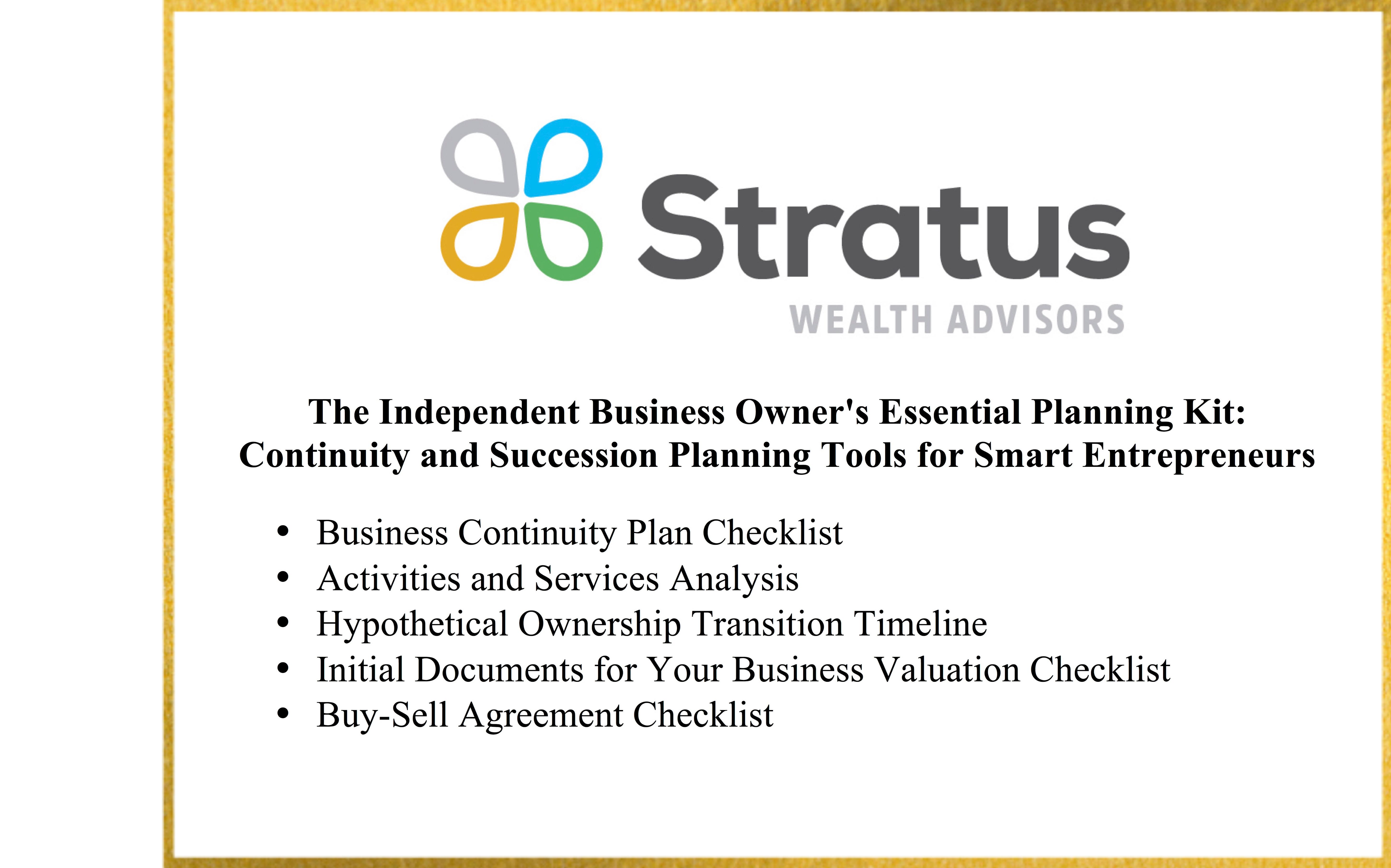 Business Owner Planning Kit