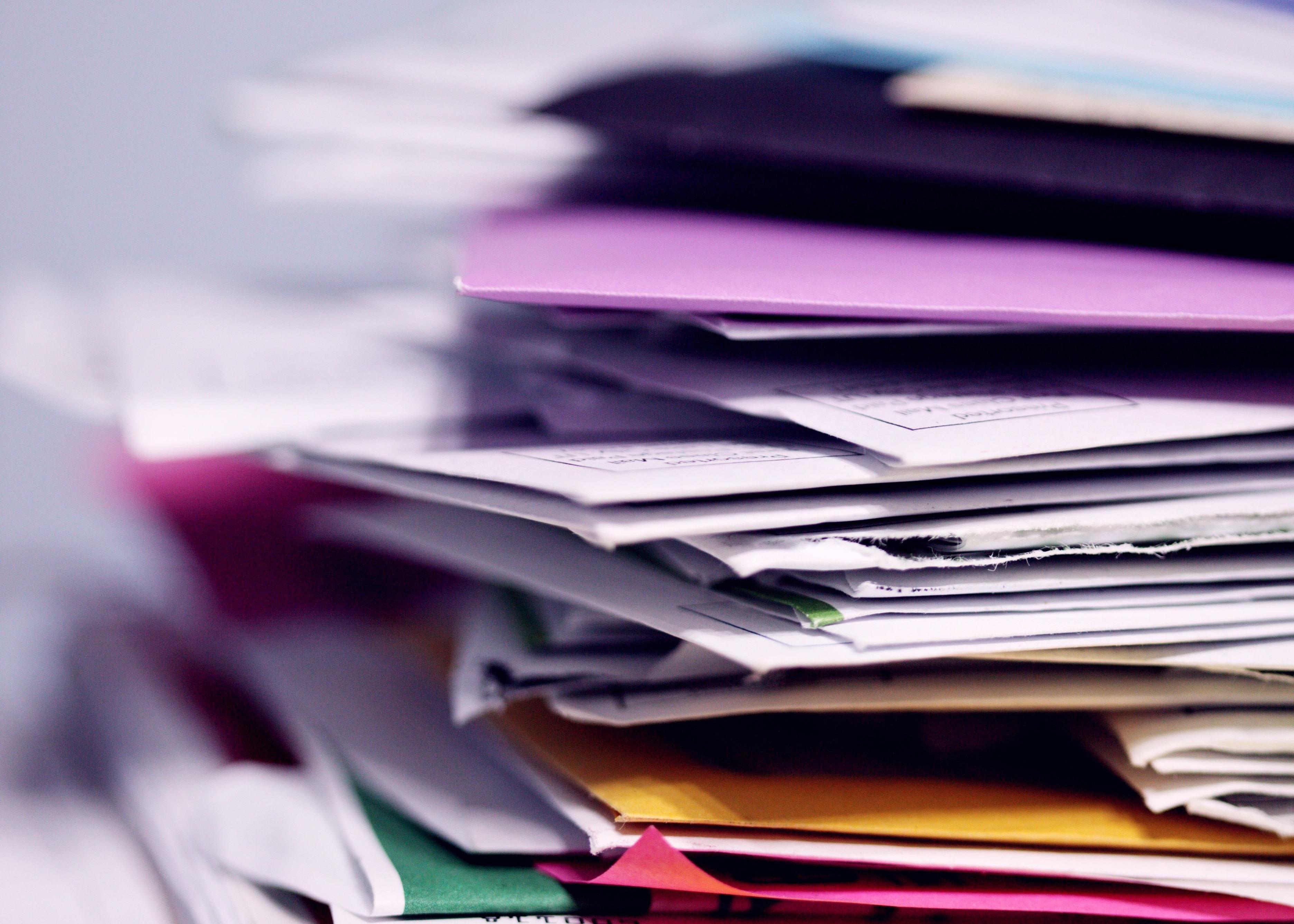 Blog Post: Paperwork anyone? Thumbnail