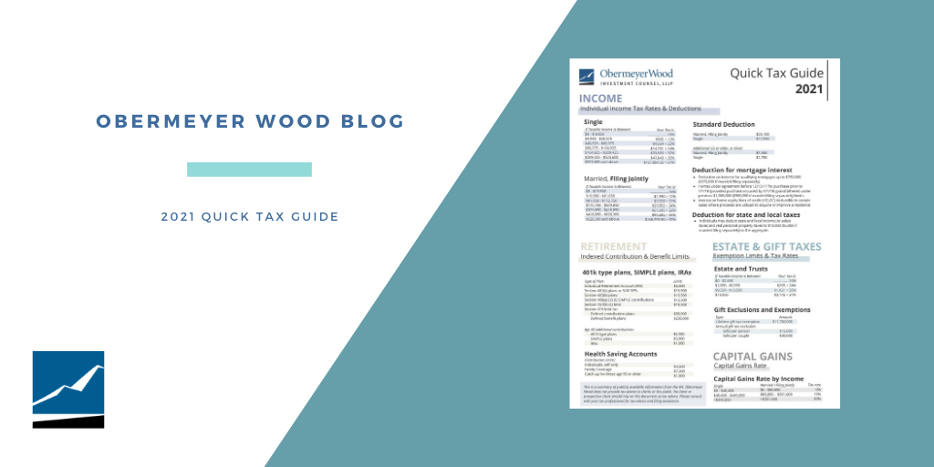 2021 Quick Tax Guide Thumbnail